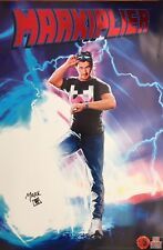 SIGNED - Markiplier 24x36 RARE Poster - Exclusive SDCC 2016 Back to the Future