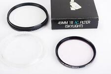 genuine Minolta 49mm 1B AC filter (skylight), BOXED