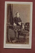 St Leonards-on-Sea. Henry Knight. no.712 Boy  Victorian  CDV photograph qe.230