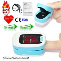 Finger oxímetro de pulso, medidor de oxígeno en sangre, monitor de sensor SPO2