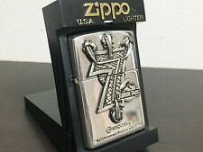 RARE! ZIPPO Limited Edition Jurassic Park 7 3D Talons Lighter Silver