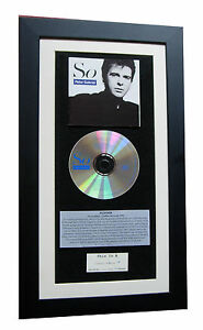 PETER GABRIEL So SLEGEHAMMER CLASSIC CD Album QUALITY FRAMED+FAST GLOBAL SHIP