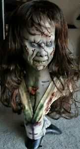 Life Size Bust Exorcist Regan Linda Blair Demonic Style 4