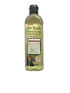 Dr. Teal's Moisture Bath & Body Oil Shea Butter Ultra Rich Almond Cocoa Jojoba