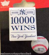 NEW YORK YANKEES 10,000TH WIN PIN A-ROD BERRA JETER GEHRIG RUTH RARE