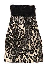 Women's Mini Leopard Dress Size S