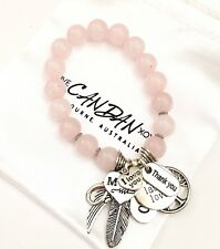 Gift For Mum I Love You Bracelet Live Laugh Love Angel Wing Xoxo Charms