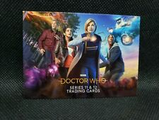 Doctor Who Series 11 & 12 promo card Pt1 Philly Show Exclusive Jodie Whittaker