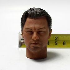"1/6 Scale Inception Leonardo Closed Eyes Head Sculpt For 12"" Figure Body"