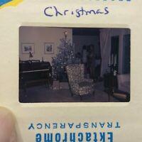 1967 Vintage Christmas Tree Decorations 35mm Slide   W6