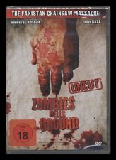 DVD ZOMBIES HELLS GROUND - THE PAKISTAN CHAINSAW MASSACRE - UNCUT - FSK 18 * NEU