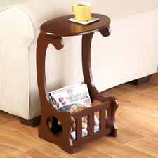 Beautiful Finish Magazine Storage Home Accent Table - Perfect For Tight Spaces