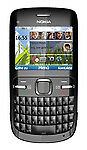 Nokia C Series C3-00 - Black (ROGERS/FIDO) Cellular Phone