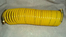 "200 psi   FAST STORE COILED AIR HOSE 1/4"" O.D.  Brand new NEW 25 Feet !"