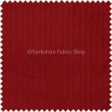 Jumbo Corduroy High Low Plain Soft Texture Upholstery In New Red Colour Fabric