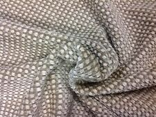 Glant Textiles Nubby Upholstery Couture Haute Lattice/Taupe Ivory 5.5 yd 9903-01