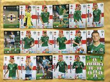 Panini Adrenalyn XL Euro 2020 NORTHERN IRELAND Playoff Team (18 Cards)  *RARE*