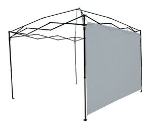 Ozark Trail Sun Wall for 10' x 10' Straight Leg Canopy (Accessory Only), Gray