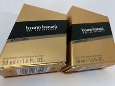 2 X BRUNO BANANI MAN'S BEST EDT SPRAY 50 ML