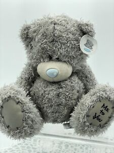 Me To You Tatty Teddy Bear, Blue Nose, 20cm Tall, 8' Carte Blanche