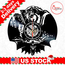 Batman Vinyl Clock Joker Wall Decor Art Dc Arkham Dark Knight Kid Christmas Gift