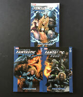 Lot of 3 Ultimate Fantastic Four Volume 4-6 Graphic Novel TPB Marvel Comics 2007