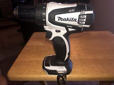 "Makita 18v 1/2"" Drill/Driver M/N XFD01 (Black/White)"