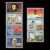 Grenada 1976 - 100th Anniv. of the First Telephone Technology - Sc 780/6 MNH