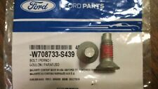 FORD OEM Brake-Rear-Rotor 6 STAR Bolts W708733-S439 (2) bolts
