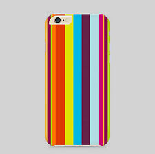 de color Pintado Rayas Funda de teléfono