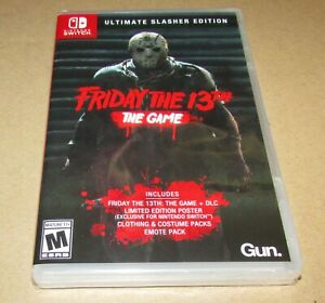 Friday The 13th: Game Ultimate Slasher Edition (Nintendo Switch) Fast Shipping