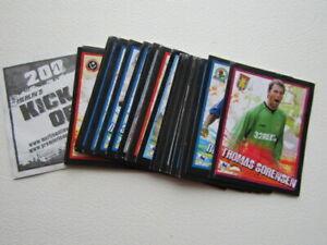 Merlin 1996 Merlin`s Kick Off Football Stickers Sticker Variants (ef3)