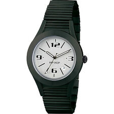 Original  BREIL HIP HOP Watch ALUMINIUM Male Black Tie - HWU0582