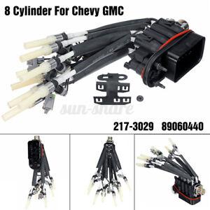 Fuel Spider Injector + Bracket FJ10566 FJ504 For Chevy Pickup Truck V8 5.0L 5.7L