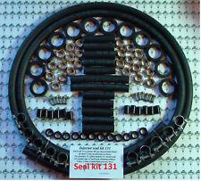JAGUAR V12 egli BOSCH 0280150161 Iniettore Carburante Kit di servizio completo + 2 METRI TUBO