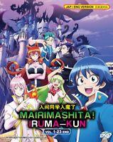 MAIRIMASHITA ! IRUMA-KUN - COMPLETE ANIME TV SERIES DVD BOX SET (1-23 EPIS)