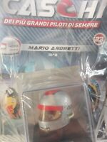MARIO ANDRETTI 1978 HELMET BELL  CASCHI  FORMULA 1 COLLECTION #23 - 1:5 MOC