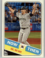 James Paxton 2018 Topps Heritage High Number NOW & THEN Mariners #NT-5