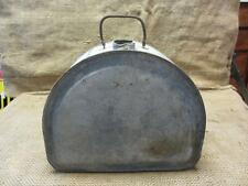 Vintage Metal Gas Can w Unusual Design Water Can > Antique Oil Tractor Farm 9380