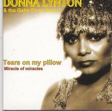 Donna Lynton-Tears On My Pillow cd single
