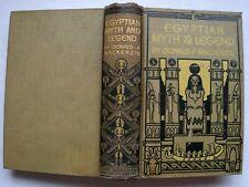 Egyptian Myth And Legend - Donald A. Mackenzie, Gresham, Circa 1920. Illustrated