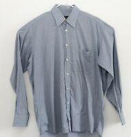 Celine Homme Mens Dress Shirt Sz 40 15 3/4 Blue
