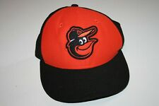 Baltimore Orioles New Era Hat Cap 59Fifty Youth Size 6 5/8 Black Orange