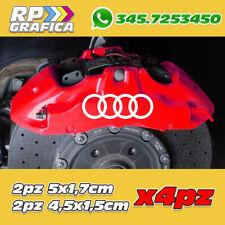 KIT 4 ADESIVI AUDI sticker PINZE FRENO A1 A3 A4 A6