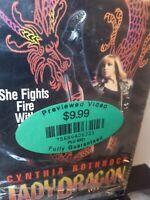 Imperial VHS Lady Dragon Rare 1992 OOP Action Martial Arts Cynthia Rothrock HTF