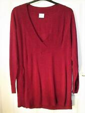 NEW QUALITY WARDROBE RASPBERRY PINK  LONGLINE TOP ~ JUMPER SIZE 16/18  # 743
