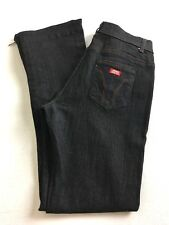 Miss Sixty Jeans Women's  Size 26 Black Mid Rise Stretch Skinny Zip Leg