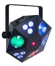 """SHOWTEC """"Magician"""" 5-in-1 Lichteffekt Laser Strobe Flower Wash UV LED DMX Disco"""