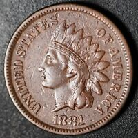 1881 INDIAN HEAD CENT - With LIBERTY - Near XF EF