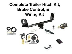Complete Trailer Hitch Kit, Wiring Kit, & Brake Control Fits a BMW X5 2007-2018